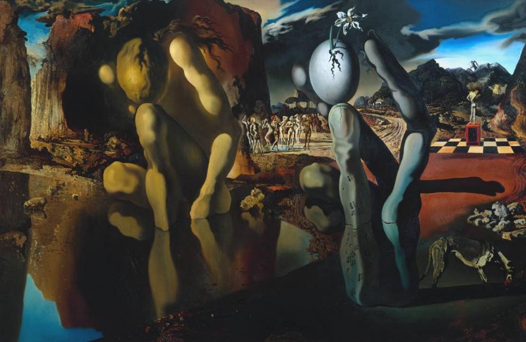Metamorphosis of Narcissus 1937 by Salvador Dalí 1904-1989