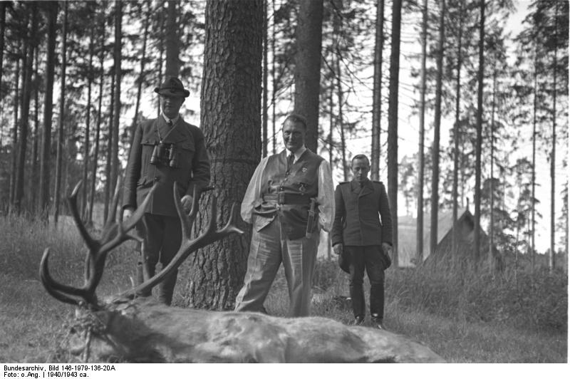 Friedrich Fromm, Hermann Göring, Walter v. Keudell